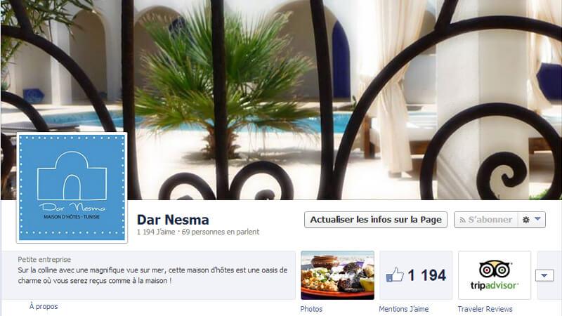 Facebook Dar Nesma Maison d'hôtes