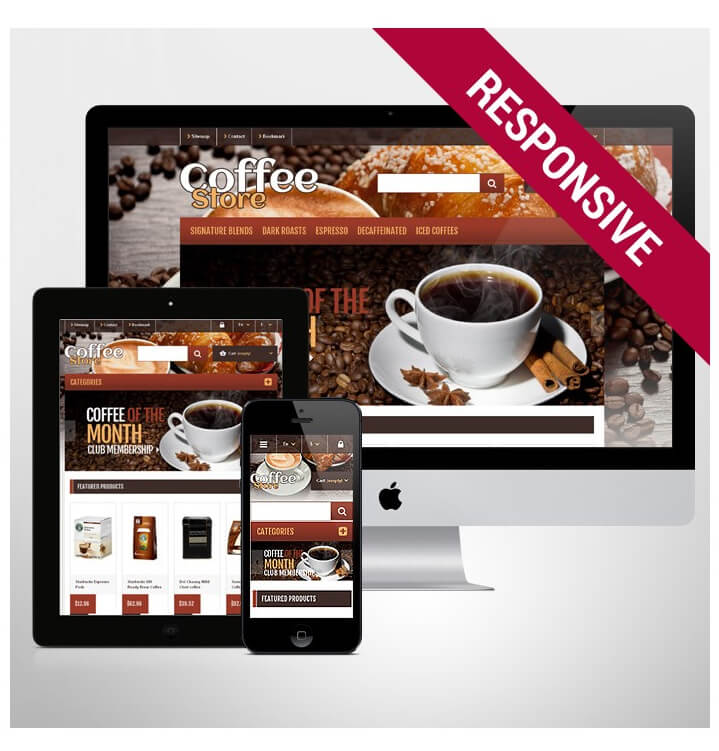 Theme coffee Tea eshop-promotion