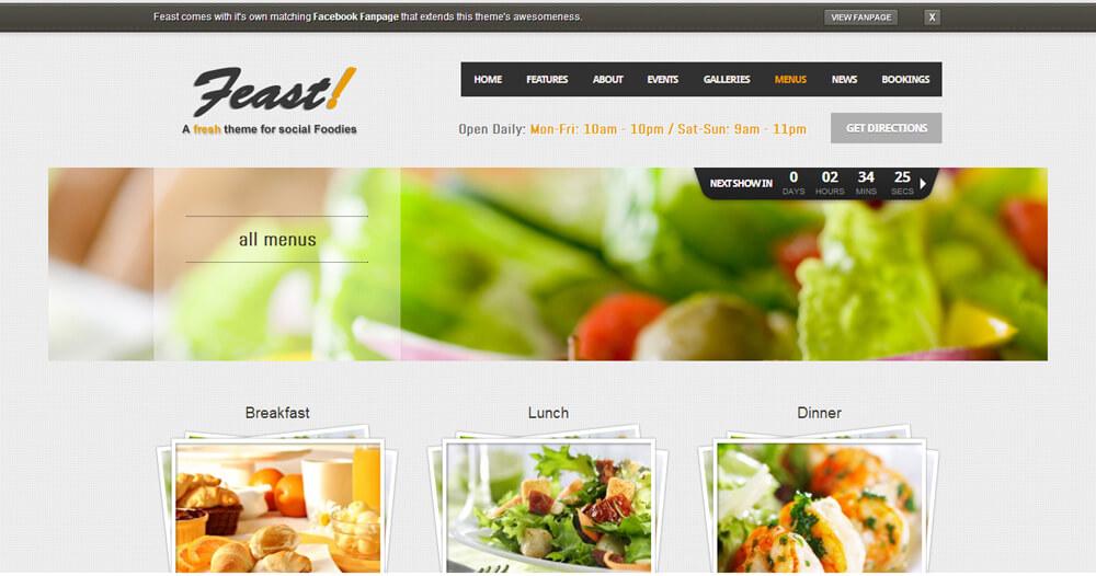 restaurant reservation eshop-promotion