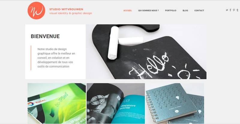 Studio Witvrouwen: agence de création graphique