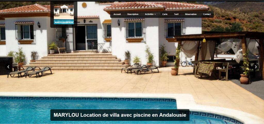 Agence de location villa espagne agence de cr ation site for Agence de location