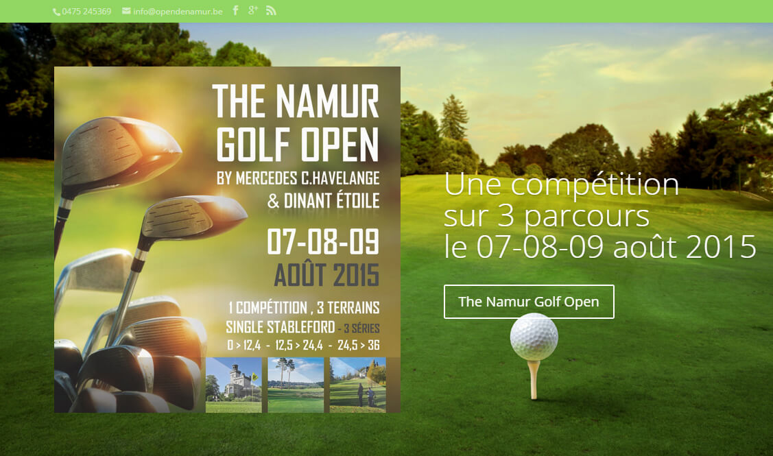 Golf Open de Namur By Mercedes