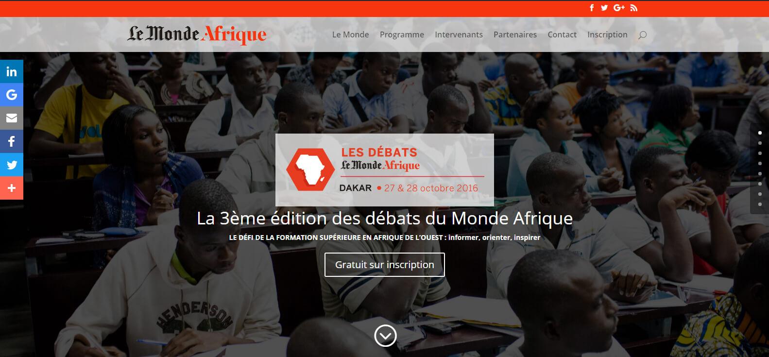 Le Monde Afrique   Journal Le Monde