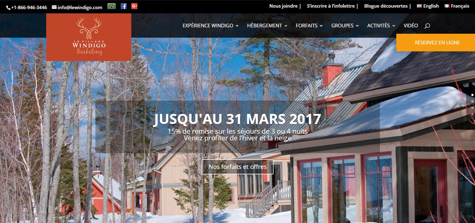 Le Windigo: Location de Chalets et appartements au Québec Canada