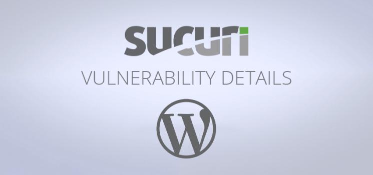 Vulnérabilité d'injection de contenu dans WordPress