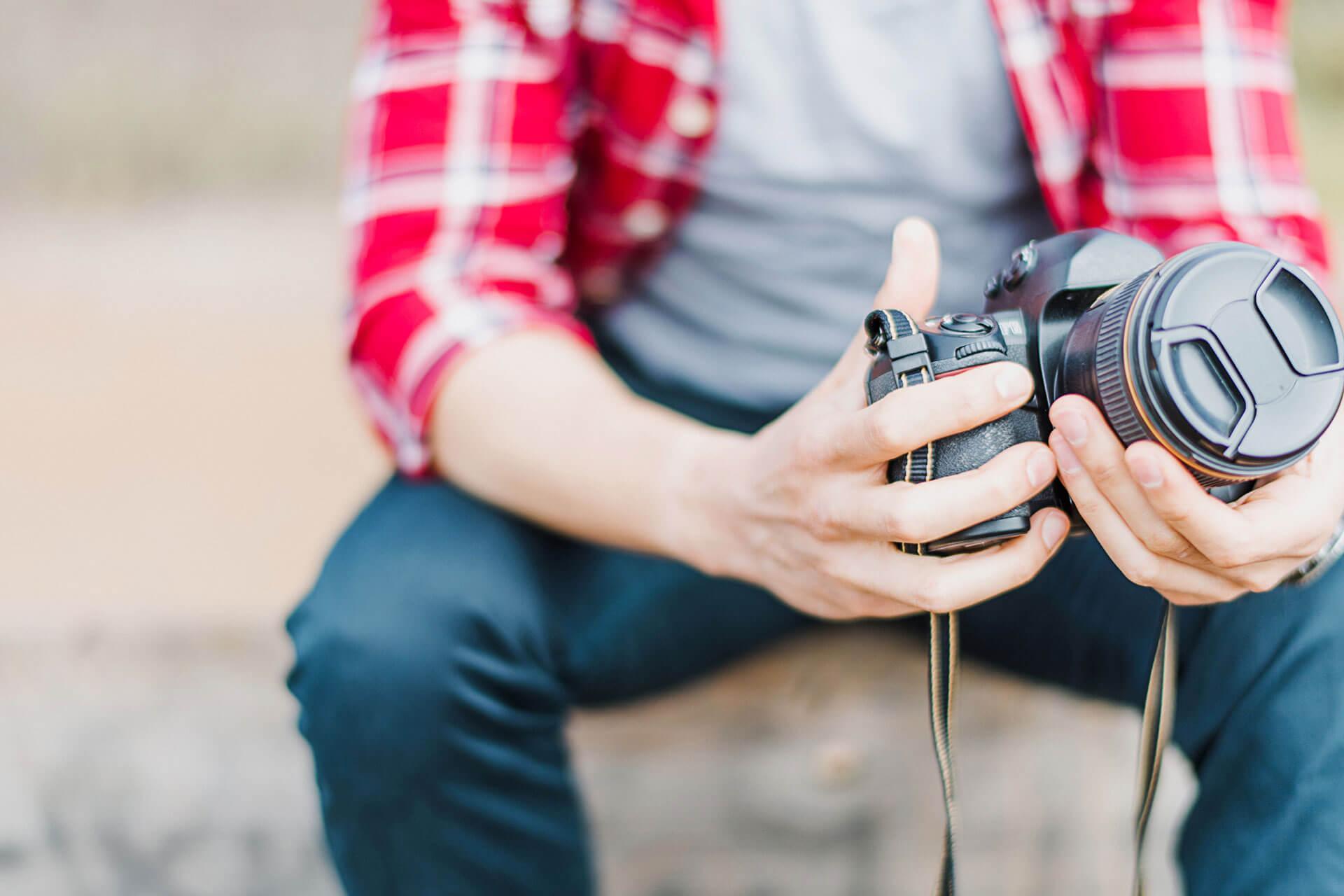 Photo market vendeur