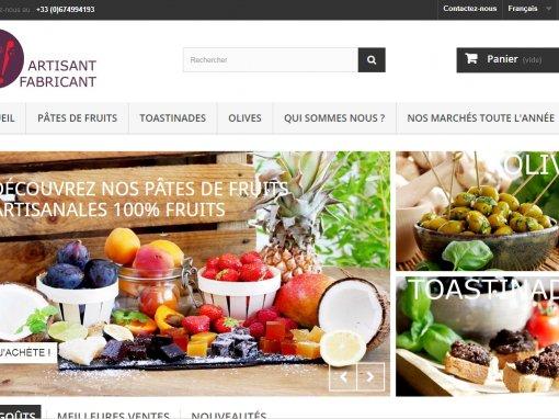 Fabricant artisan de pâtes de fruit et Olives : Façon C