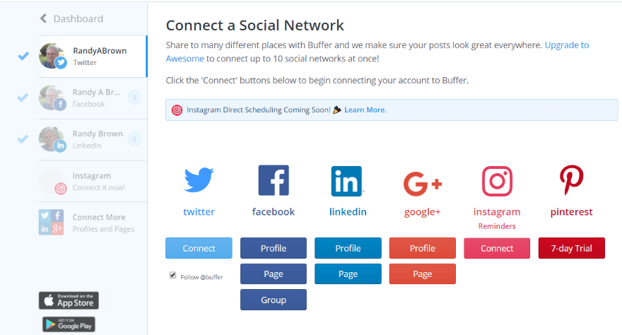 Manage Multiple- Accounts Social media