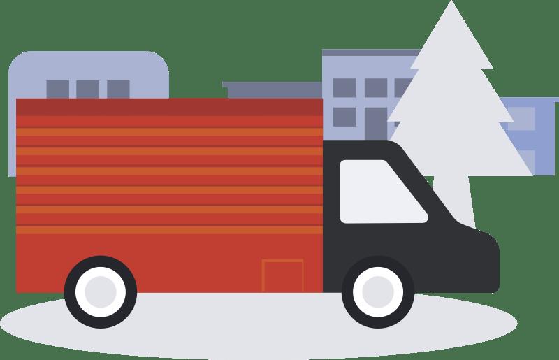 Thème pour petites entreprises et entreprise de déménagement