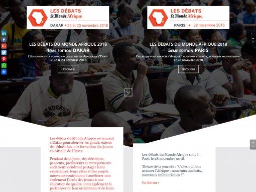 Journal Le Monde Afrique