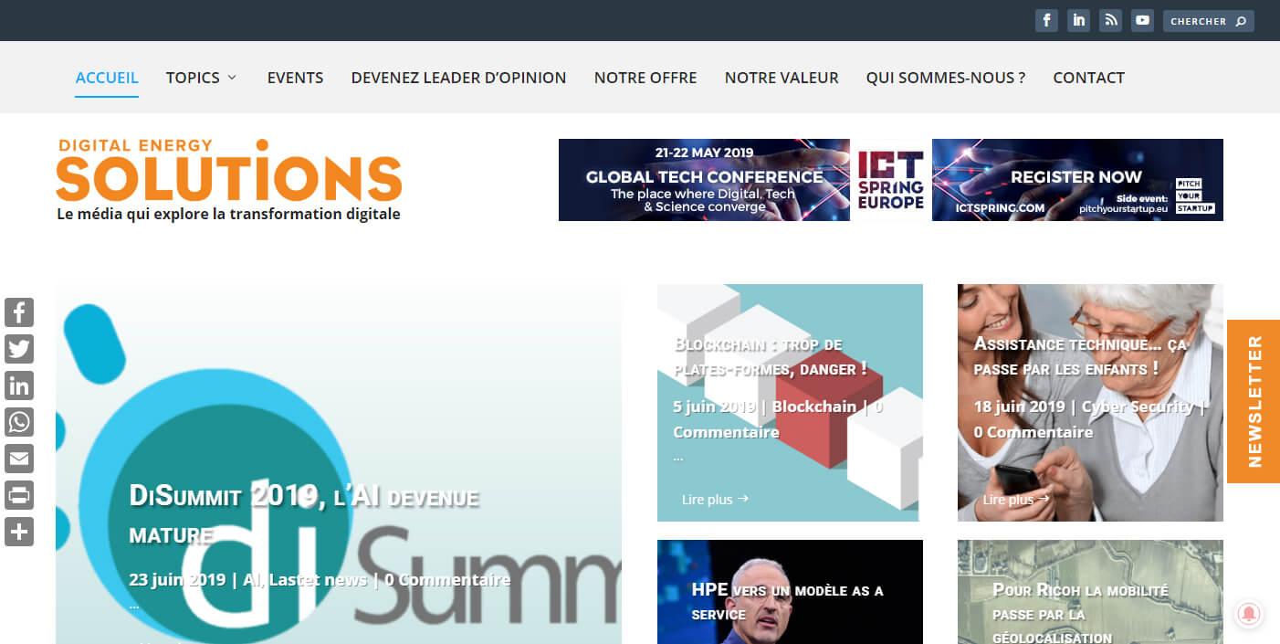 Solutions-Magazine.com Belgique