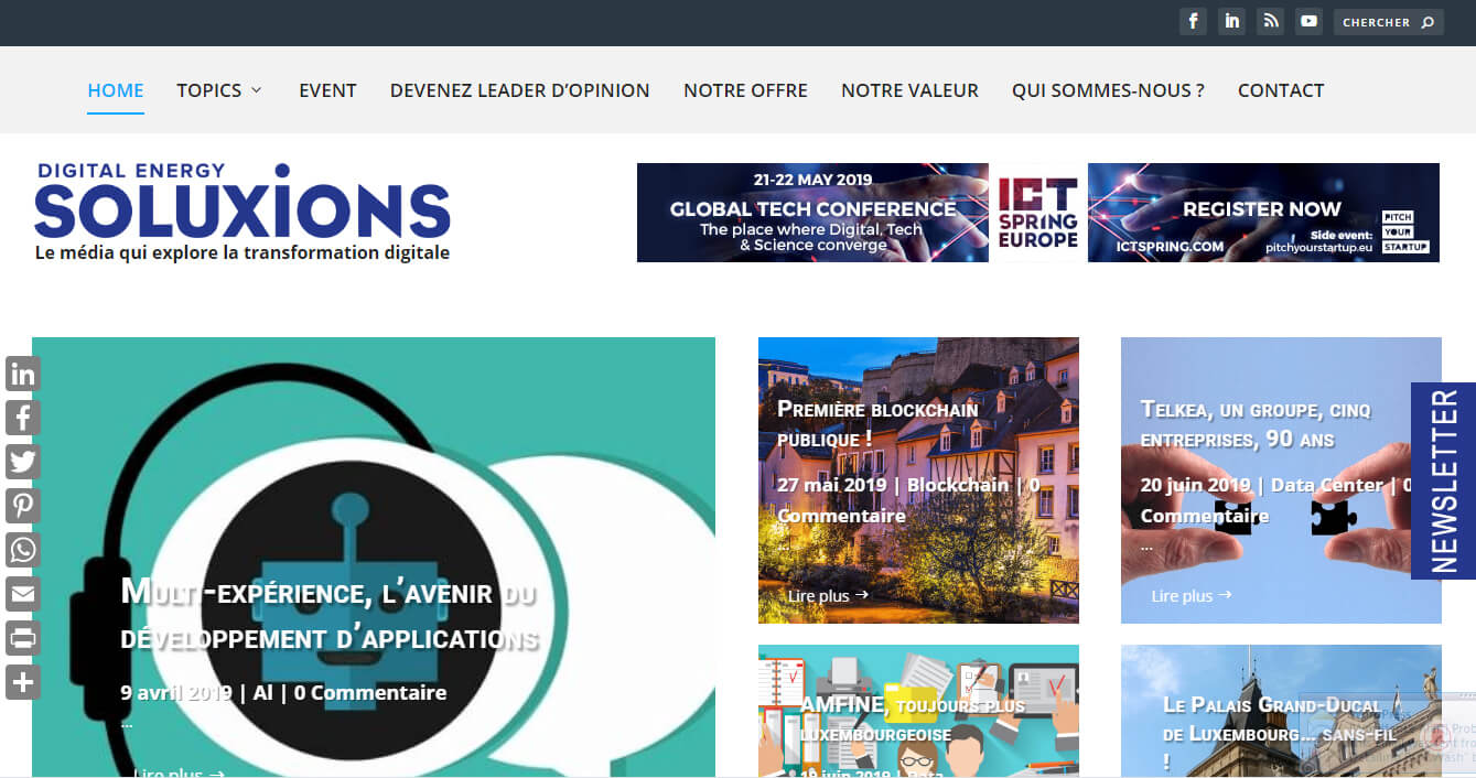 Solutions-Magazine.com Luxembourg