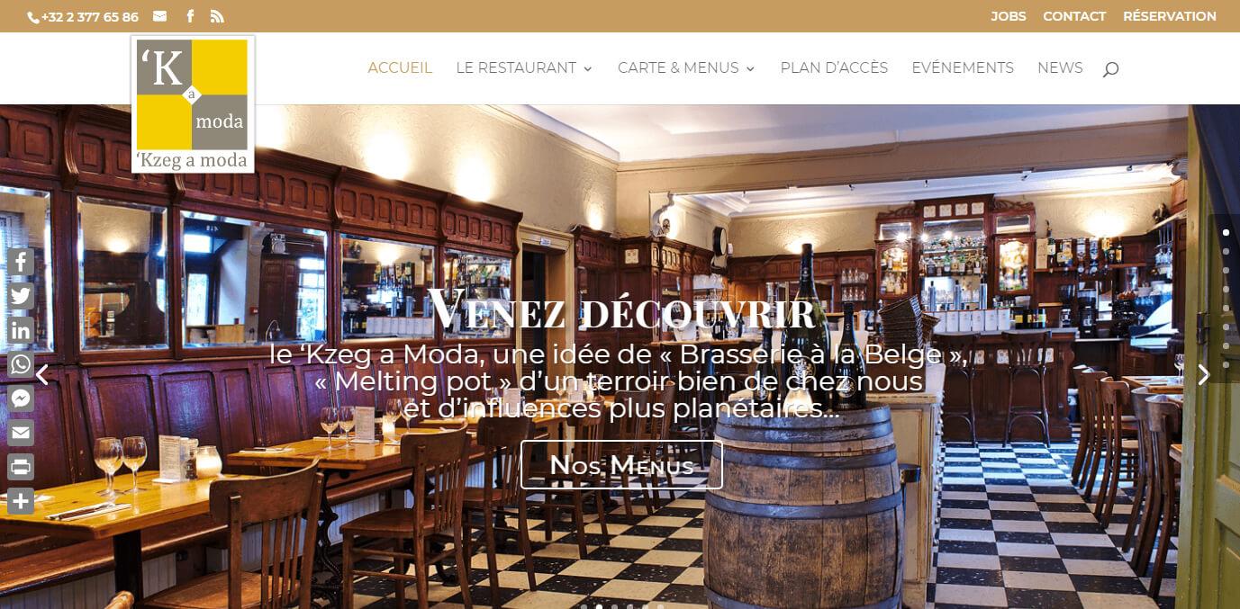 Restaurant Kzeg a moda