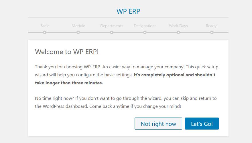 Wordpress ERP