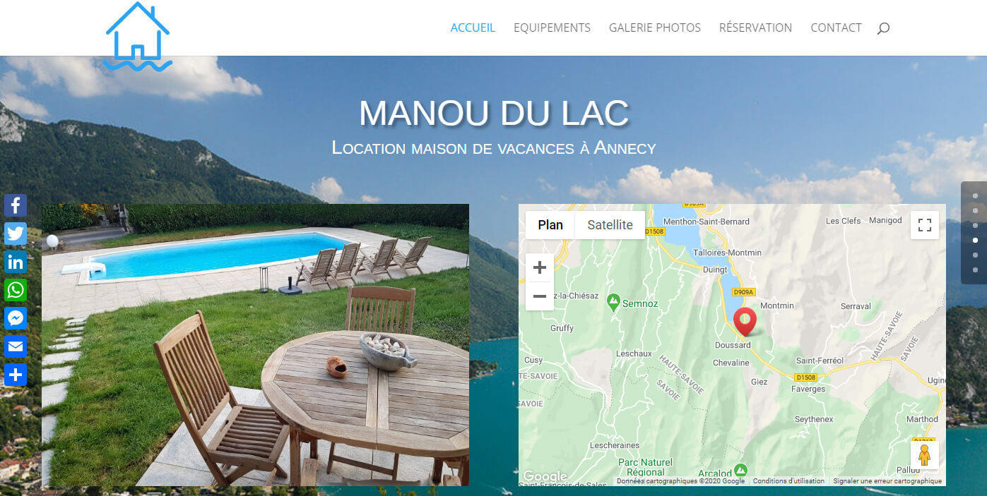 Location Lac d'Annecy