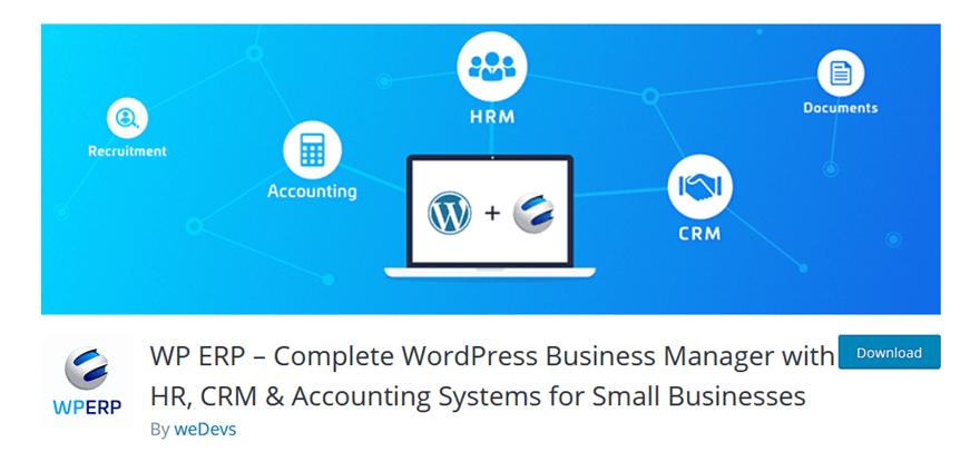 Online WordPress ERP