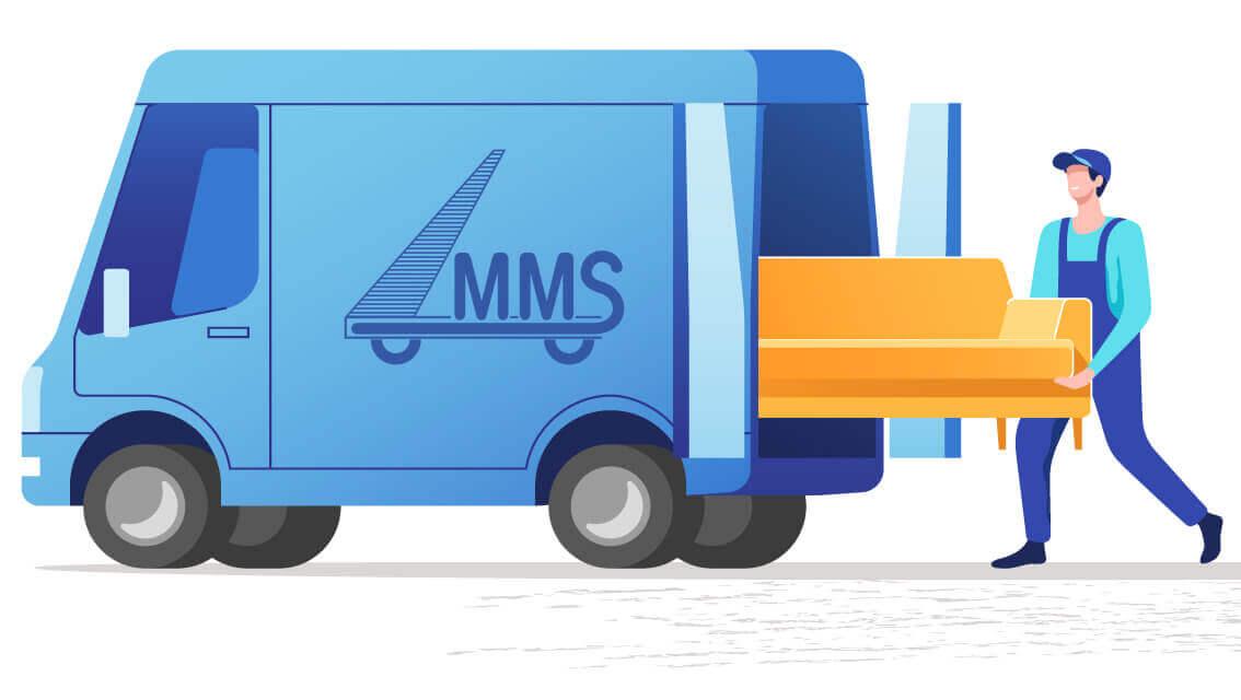 MMS déménagement Belgique