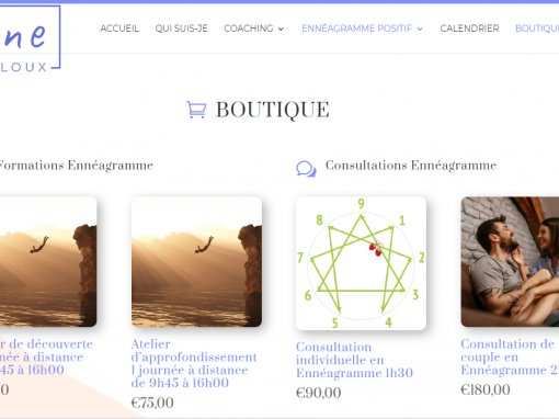 Boutique Céline Laloux coach Ennéagramme